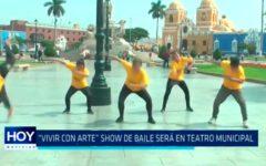 """""""Vivir con arte"""" : Show de baile será en Teatro Municipal"""