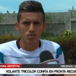 Segundo Acevedo confía en pronta recuperación