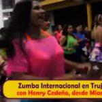 Zumba internacional en Trujillo con Henry Cedeño