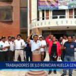 Chiclayo : Trabajadores de JLO reinician huelga general