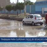 Chiclayo : Trabajan para superar crisis de desagües en colegios