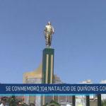 Chiclayo : Se conmemoró 104 natalicio de Quiñones Gonzáles