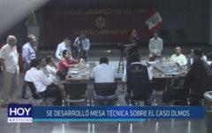 Chiclayo : Se desarrolló mesa técnica sobre el caso Olmos