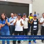 Chiclayo : Trabajadores universitarios llegaron a defensoría