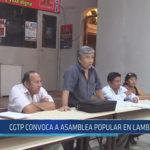 Chiclayo : CGTP convoca a asamblea popular en Lambayeque