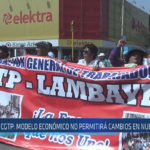 Chiclayo : CGTP : Modelo económico no permitirá cambios en nuestro país