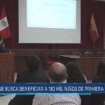 Chiclayo : Se busca beneficiar a 130 mil niños de primera infancia