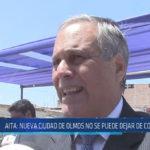 Chiclayo : Aita: Nueva ciudad de Olmos no se puede dejar de construir
