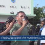 Chiclayo : Trabajadores universitarios anuncian huelga para mayo