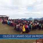 Chiclayo : Colegio de Cañarís sigue sin profesor