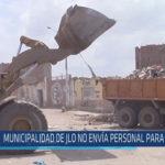 Chiclayo : Municipalidad de JLO no envía personal para limpieza