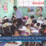 Chiclayo : Suspenden clases en colegios del Distrito de Pucalá