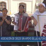 Chiclayo : Asociación de ciegos sin apoyo de las autoridades