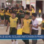 Chiclayo: Más de 300 mil escolares participaron en el primer simulacro