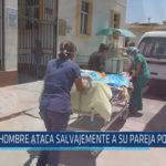 Chiclayo : Hombre ataca salvajemente a su pareja por celos