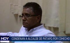 Chiclayo: Condenan a alcalde de Pátapo por cohecho