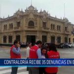 Chiclayo: Contraloría recibe 35 denuncias en el 2018