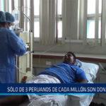 Chiclayo: Solo 3 peruanos de cada millón son donantes