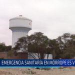 Chiclayo: Emergencia sanitaria en Mórrope es viable