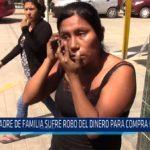 Chiclayo: Madre de familia sufre robo de dinero para compra de medicina