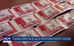 Chiclayo: Citarían a Ministra de Salud por micronutrientes vencidos