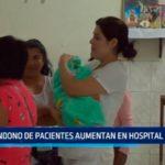 Abandono de pacientes aumentan en el Hospital Regional