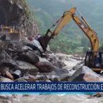 Chiclayo: Se busca acelerar trabajos de reconstrucción en el norte