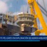 Bocanegra advierte peligros en exploración de hidrocarburos en el mar