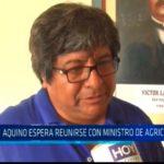 Aquino espera reunirse con ministro de agricultura