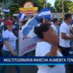 Nicaragua: Multitudinaria marcha aumenta tensión