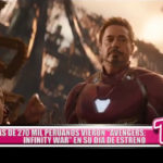 """Más de 270 mil peruanos vieron """"Avengers: Infinity War"""" en su día de estreno"""