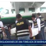 Piura: Avioneta de la Policía traslada más de una tonelada de Marihuana