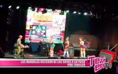 Las Banda-las hicieron de las suyas a su paso por Trujillo