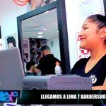 El equipo de Bajo Control Llegó a Lima 7 Barbershop