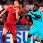 Barcelona perdió 3-0 ante la Roma y quedó eliminado de la Champions League