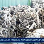Piura: Bicicletas fueron abandonadas por Empresa