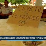 Chimbote: Inician campaña de sensibilización contra exploración petrolera