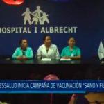 """EsSalud inicia campaña de vacunación """"Sano y fuerte"""""""