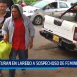 Capturan en Laredo a sospechoso de feminicidio