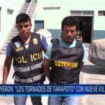 """Chiclayo: Cayeron """"Los Tornados de Tarapoto"""" con nueve kilos de droga"""