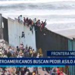 México: Centroamericanos buscan pedir asilo a E.E.U.U