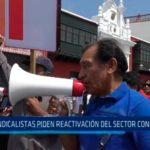 Sindicalistas piden reactivación del sector contrucción