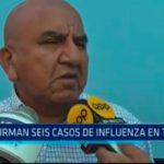 Confirman seis casos de influenza en Trujillo