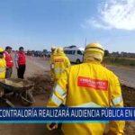 Chiclayo: Contraloría realizara audiencia pública en Chiclayo