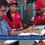 Chiclayo: Contraloría detecta irregularidades en colegios lambayecanos
