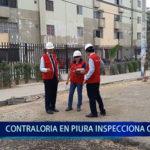 Piura: Contraloría de Piura inspecciona obras
