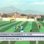Wily Serrato empató a UTC por la Copa Centenario Sub 17
