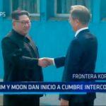 Korea del Sur: Kim y Moon dan inicio a cumbre intercoreana