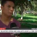 Delantero espera más adelante jugar la Copa Centenario