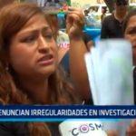 Denuncian irregularidades en investigación fiscal